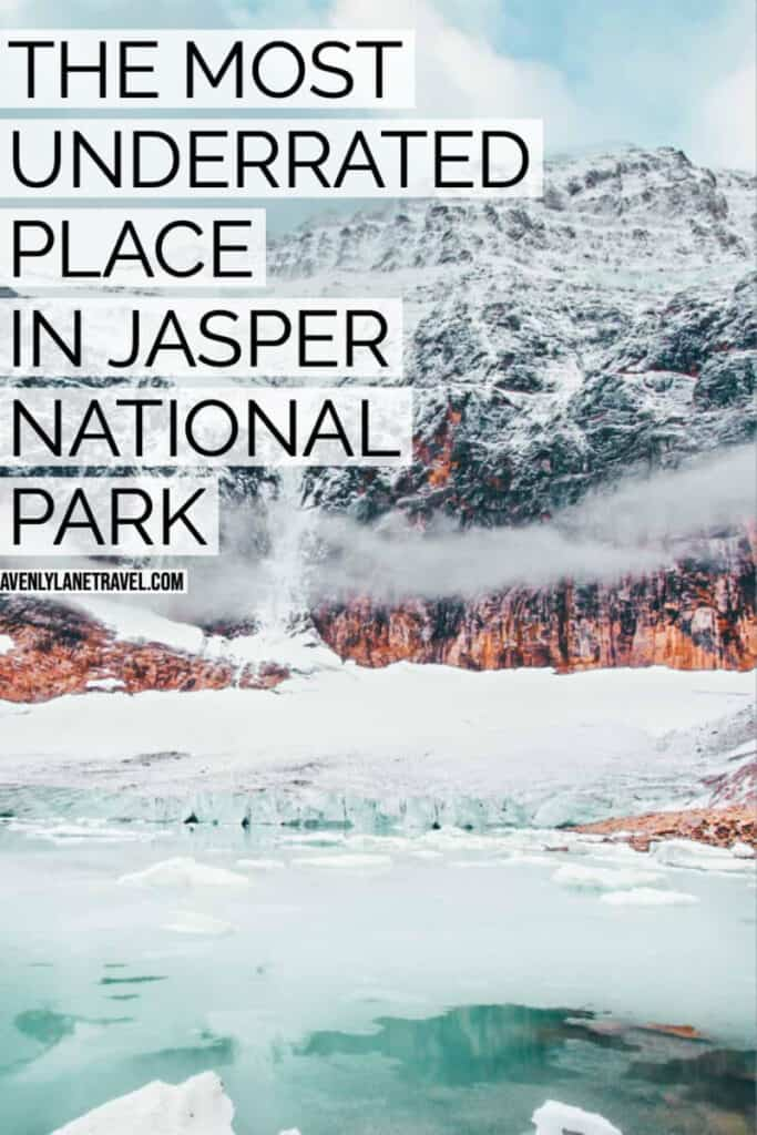 One of the most underrated Jasper attractions is Mt Edith Cavell. You can see a gorgeous blue green pond and Angel Glacier running down the mountain.