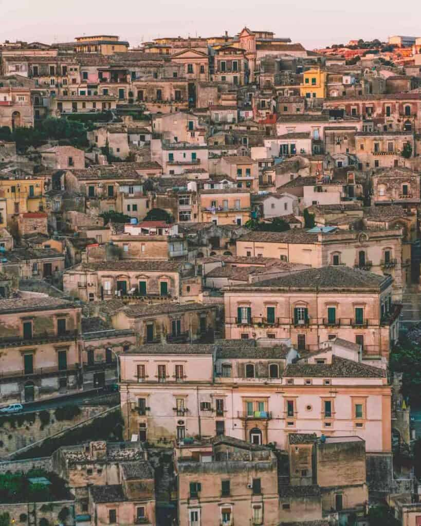 Belvedere, Modica, Italy. CHECK OUT THE 12 BEST CITIES IN ITALY TO VISIT THIS YEAR.