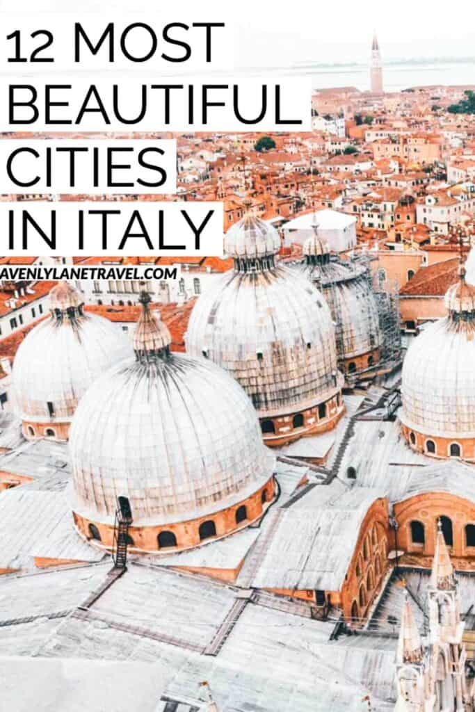 12 BEST CITIES IN ITALY TO VISIT THIS YEAR! Wondering which cities are the best to visit on your next European vacation? Check out our picks for the 12 Best Cities in Italy to Visit this Year. SEE IF YOUR FAVORITE ITALIAN CITY MADE THE LIST ON WWW.AVENLYLANETRAVEL.COM  #AVENLYLANETRAVEL #AVENLYLANE #Italy #europetravel #beautifulplaces #travelinspiration #italytravel