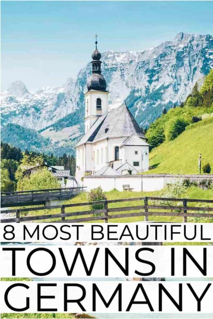 Beautiful towns in Germany