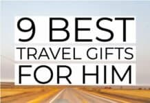 9 Best Travel Gifts for Him