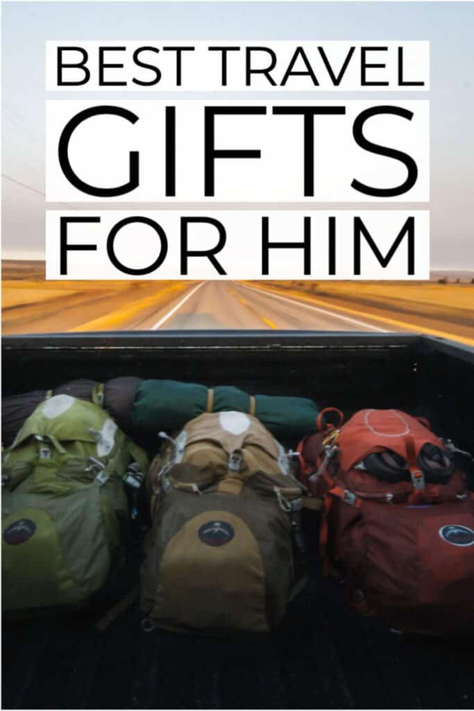 Best travel gifts for him