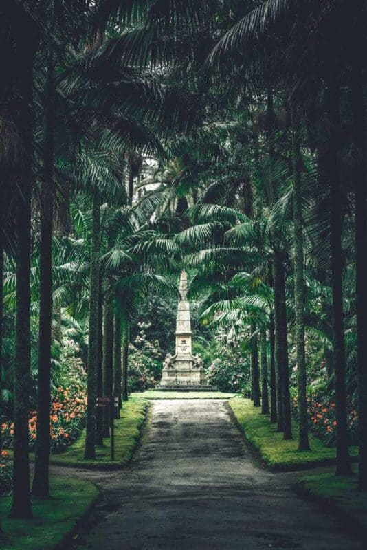 Parque Terra Nostra gardens