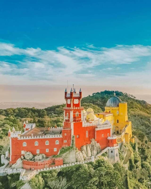 Sintra Palace in Sintra Portugal