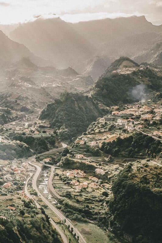 Sao Vicente, Madeira island, Portuga