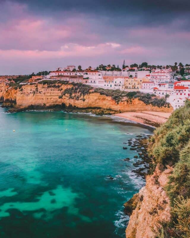 Carvoeiro Small Town On The Portugal Coast. Best Things to do in Portugal