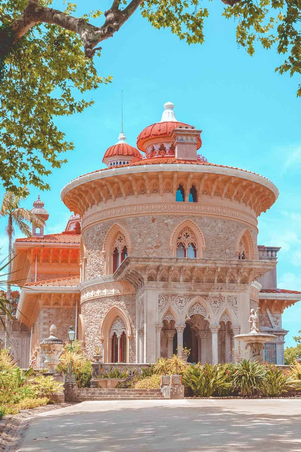 Municipal museum of Palace of Monserrate in the village of Sintra, Lisbon, Portugal