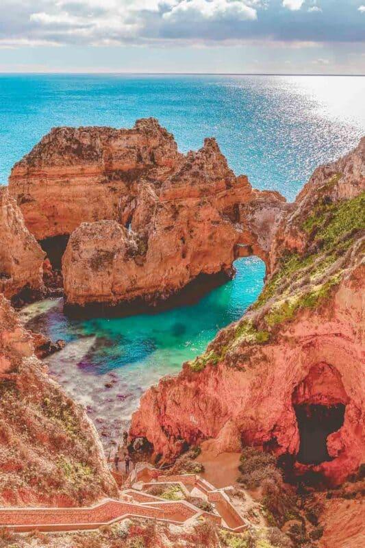 Ponta Da Piedade Cliffs Algarve