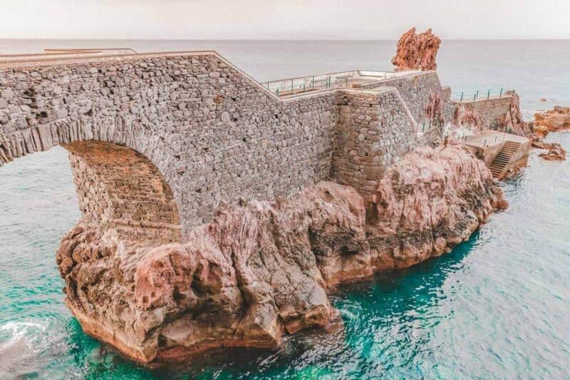 Ponta Do Sol Bridge Madeira, Portugal