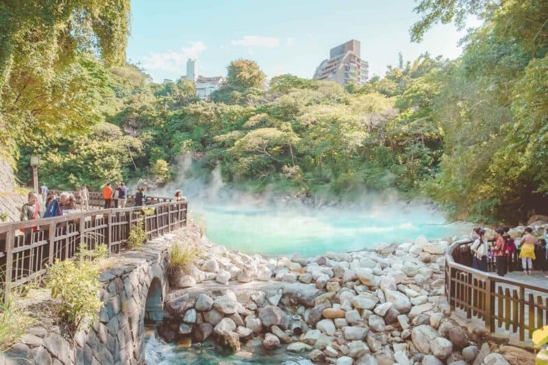 Beitou Hot Spring - Hell Valley