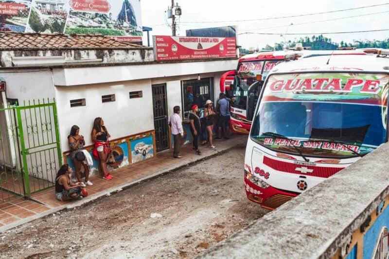 Guatape bus