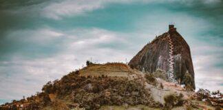 La Piedra Del Penol in Guatape Colombia