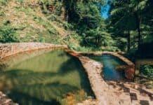 Caldeira Velha hot springs