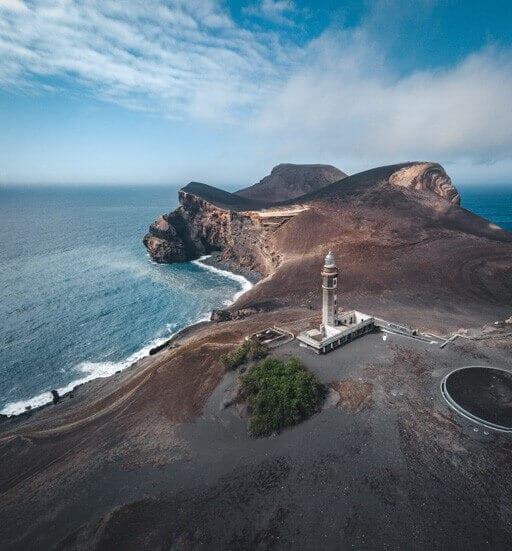 Capelinhos on Faial island, Azores