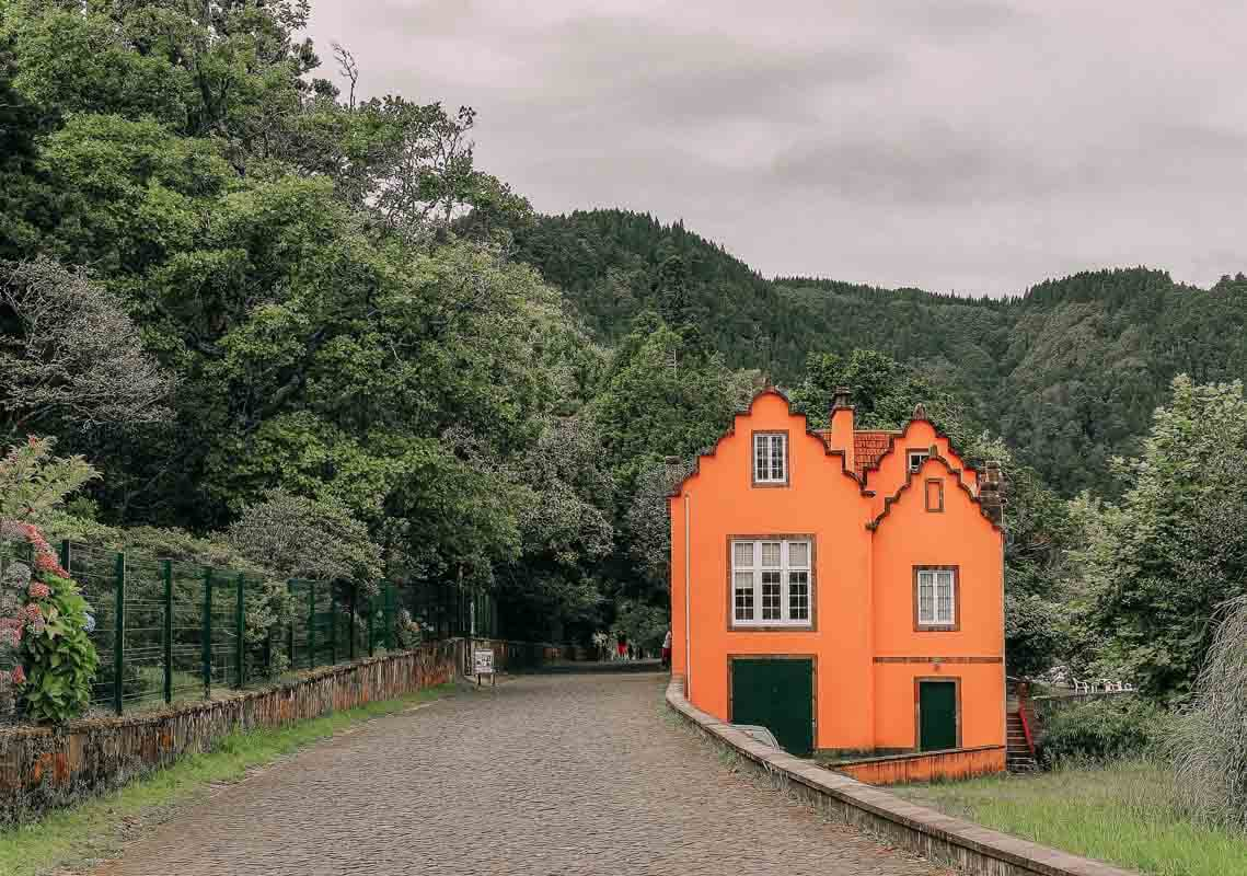 Garden of Lagoa das Furnas
