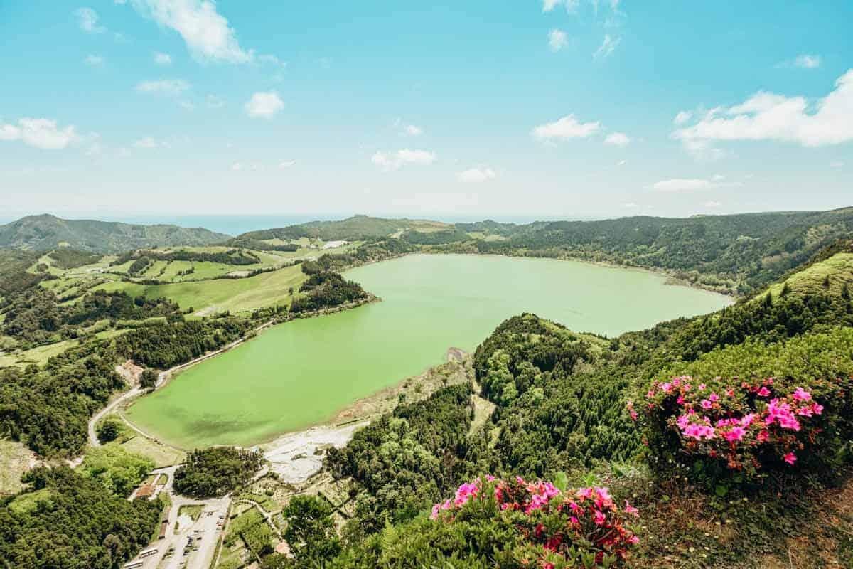 Lake Furnas Azores