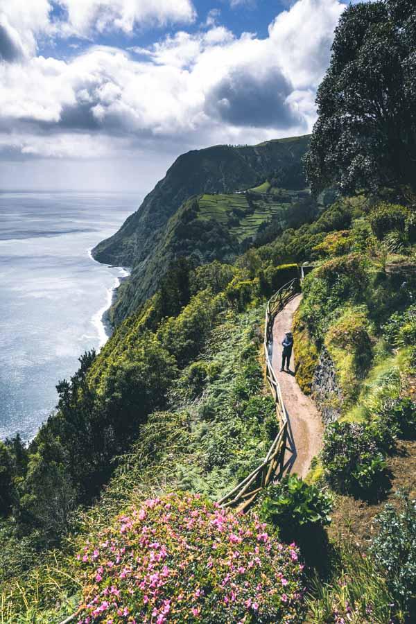 Ponta do Sossego Azores, Sao Miguel Island.