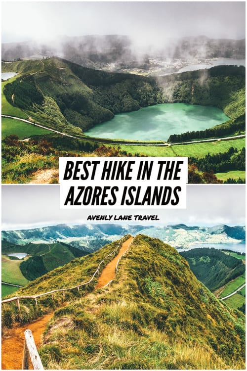 Azores Hike in Sete Cidades