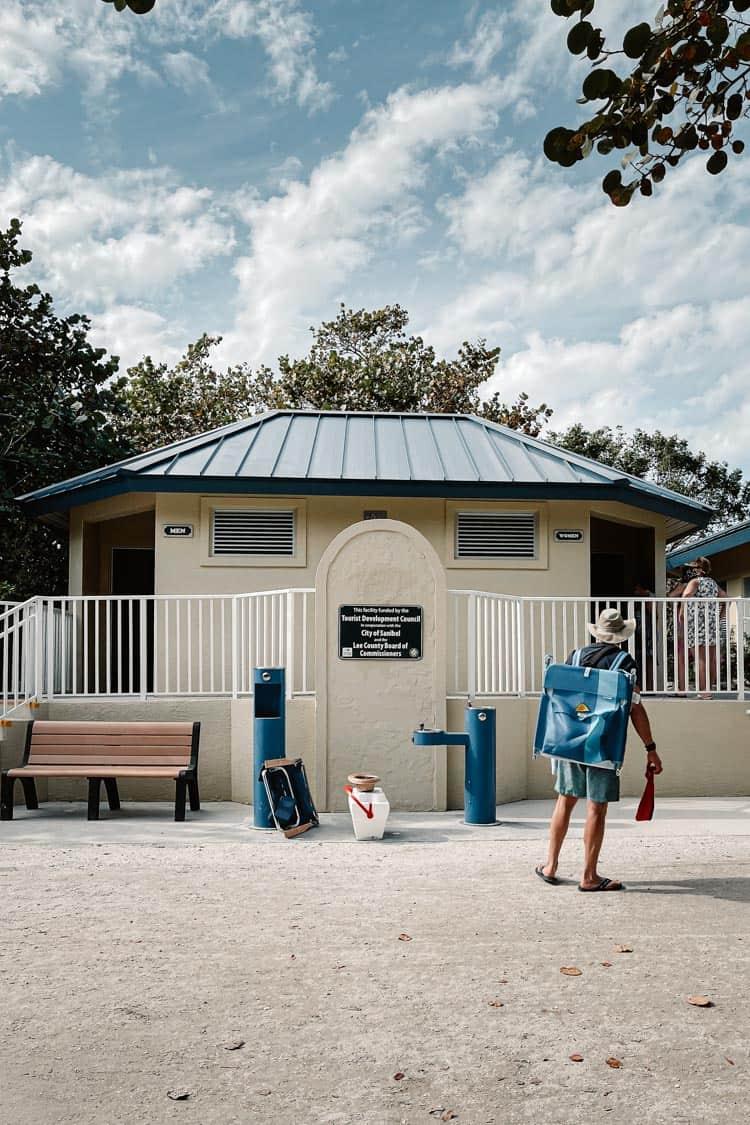 Bathroom at Bowman's Beach