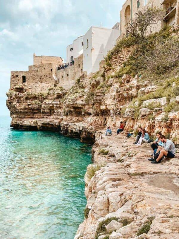 Bari, Italy Coastline