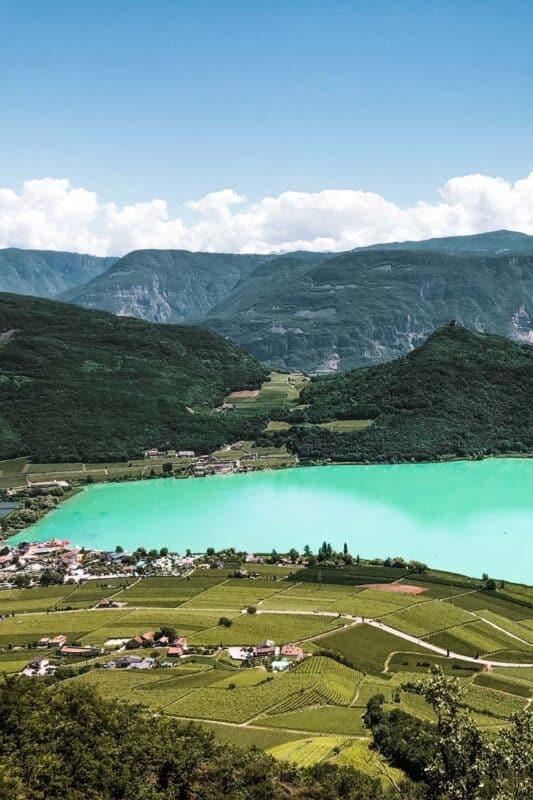 Bolzano, Italy lake