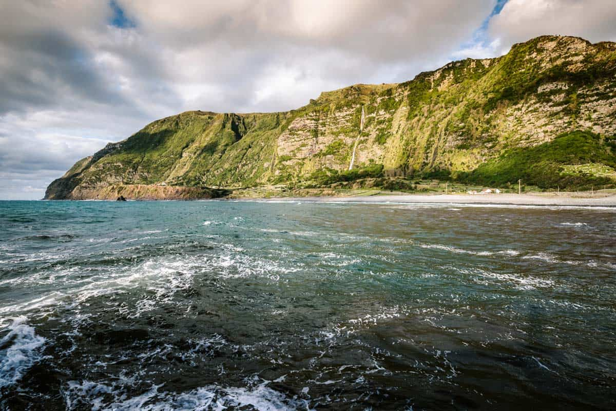 Faja Grande Flores Island