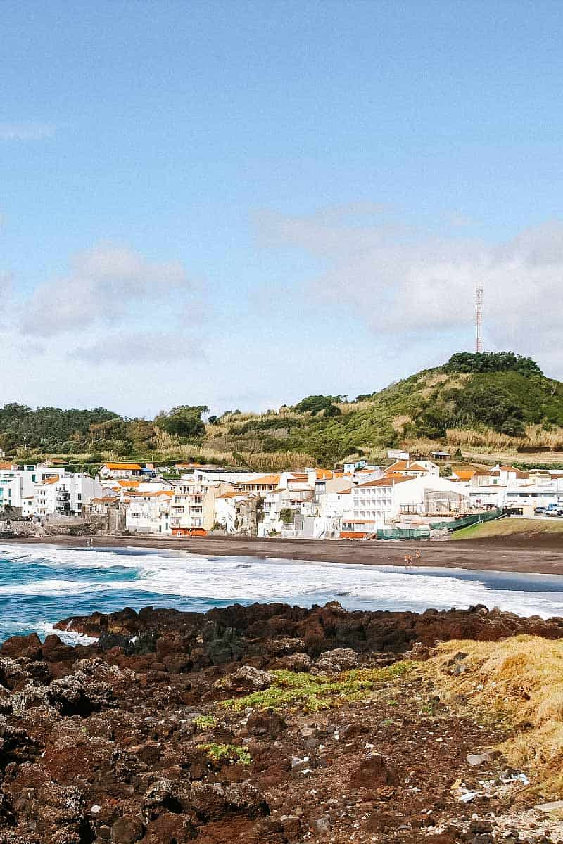 Praia das Milicias, Sao Miguel Island