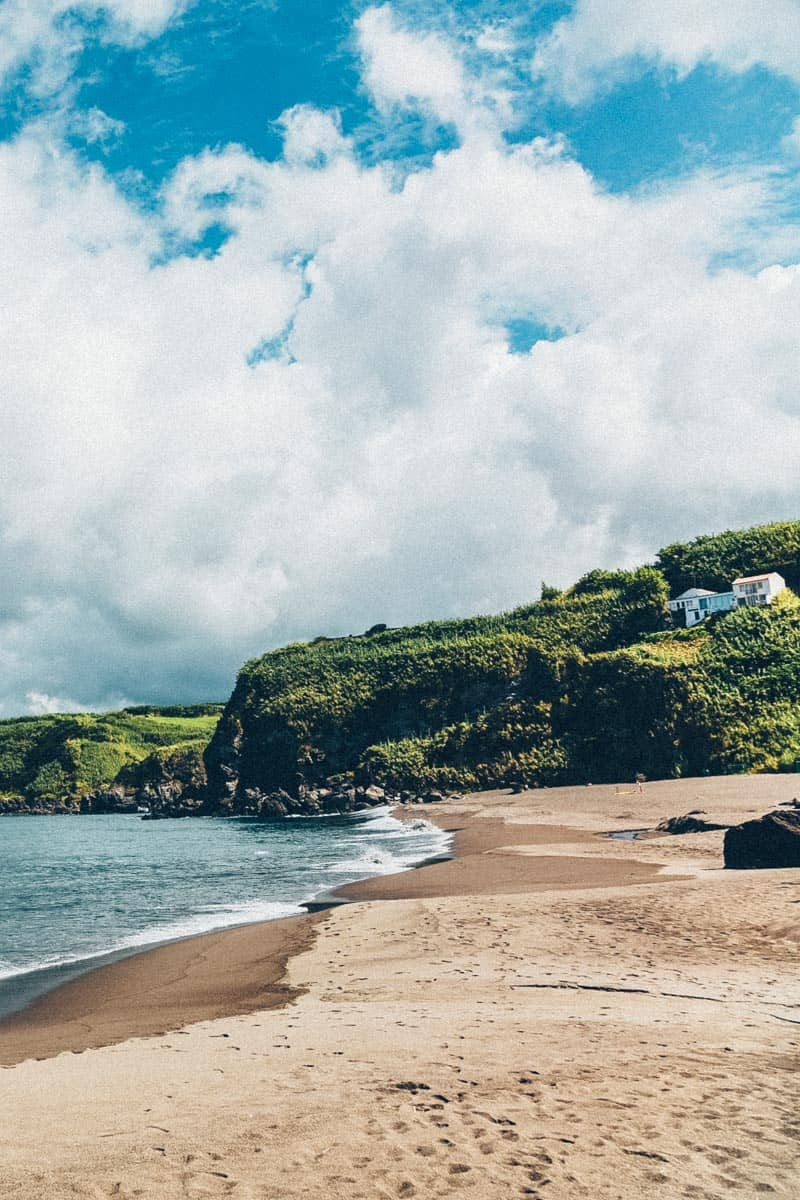 Praia dos Moinhos Azores Beach
