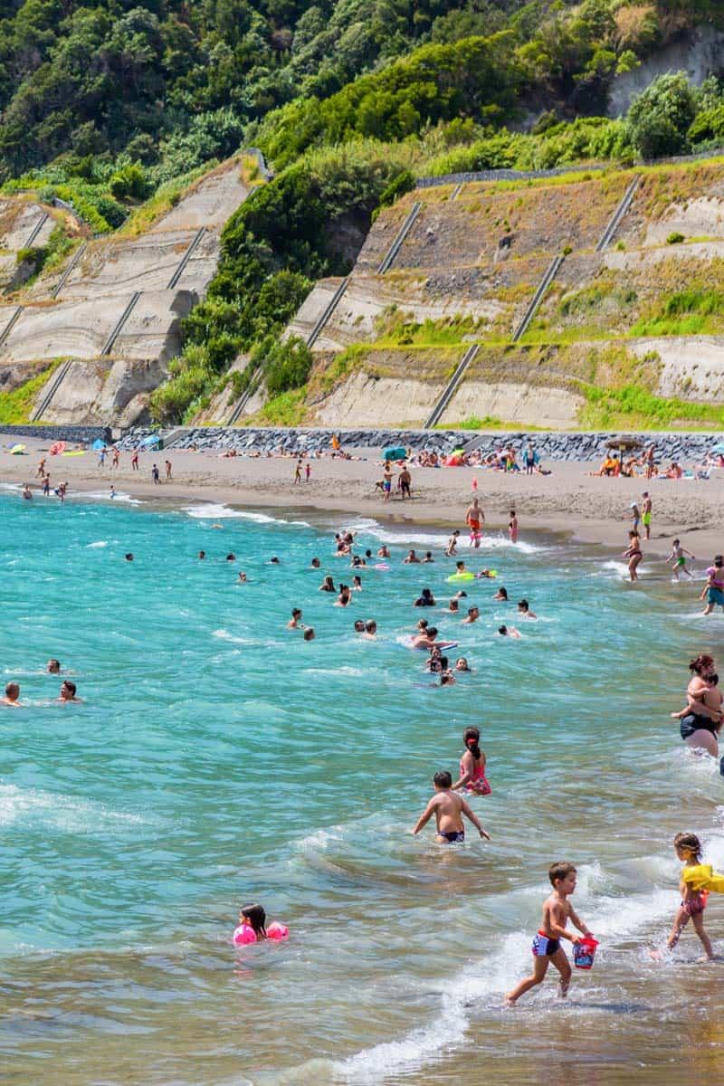Ribeira Quente Beach Azores