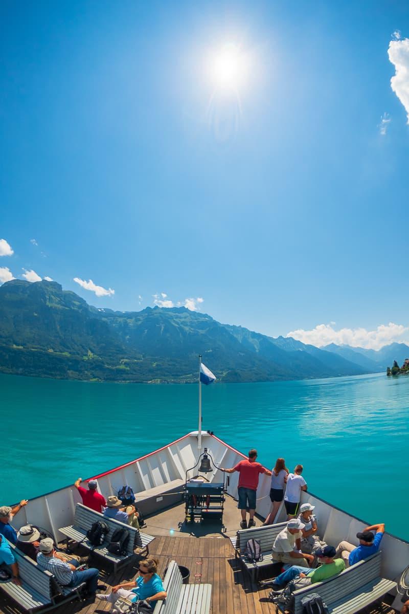 Lake Brienz Boat Tour