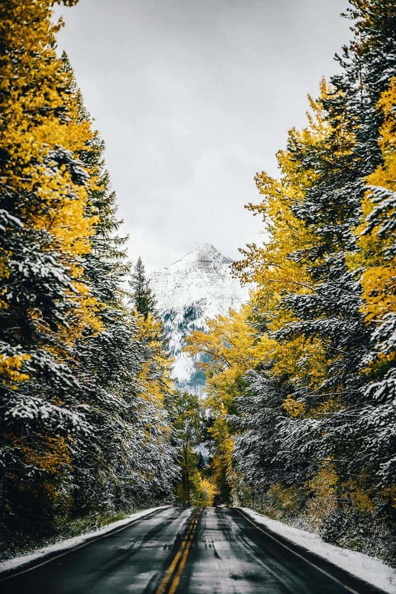 Glacier National Park in October