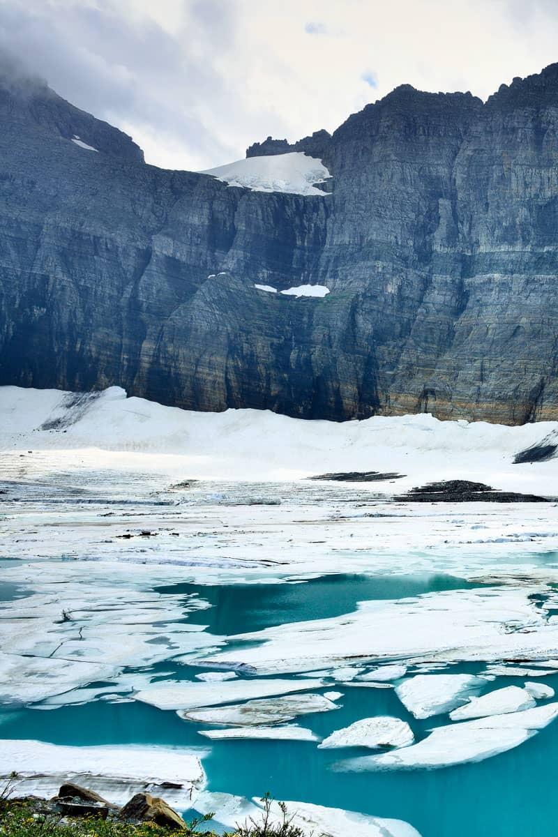 Grinnell Glacier hike in Glacier National Park