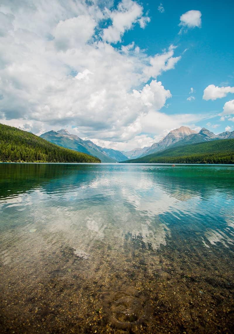 Two Medicine Lake Hike in Montana