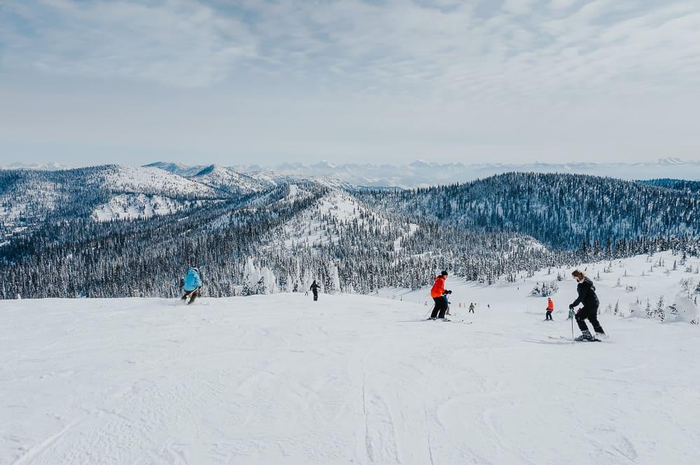 Whitefish Ski Resort in Montana